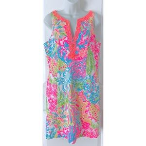 Lilly Pulitzer Lovers Coral Ryder Shift Dress
